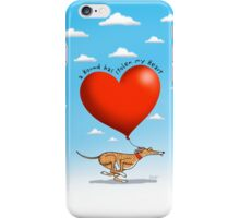 Stolen Heart - brindle hound iPhone Case/Skin