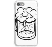 Beer drinking handle iPhone Case/Skin