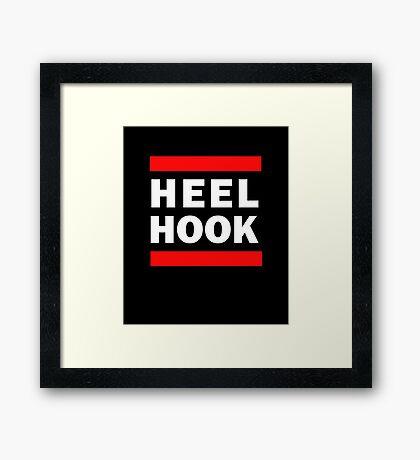 Heel Hook (BJJ & MMA) Framed Print