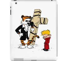 calvin and hobbes Funny iPad Case/Skin