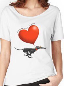 Stolen Heart - black hound Women's Relaxed Fit T-Shirt