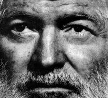 Ernest Hemingway  Sticker