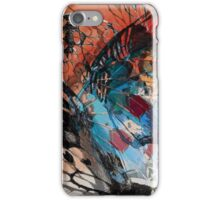 Butterfly abstract 1 iPhone Case/Skin