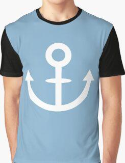 Jojo - Soft & Wet Anchor (Variant 1, White) Graphic T-Shirt