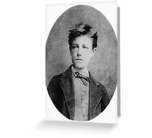 Arthur Rimbaud Greeting Card