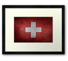 Switzerland Flag Framed Print