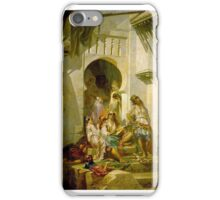 Pierre François Eugène Giraud - Women of Algeria iPhone Case/Skin
