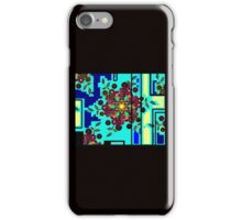 ZEN BLUE GARDEN WINDOW iPhone Case/Skin