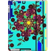 ZEN BLUE GARDEN WINDOW iPad Case/Skin