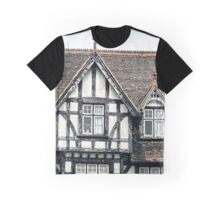 Red tiles and Tudor beams Graphic T-Shirt