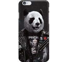 Metalhead Panda iPhone Case/Skin