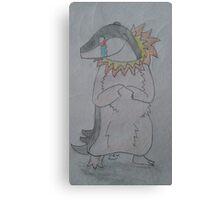 A Shy Quilava Canvas Print