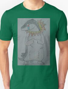 A Shy Quilava Unisex T-Shirt