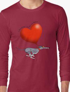 Stolen Heart - blue hound Long Sleeve T-Shirt