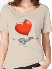 Stolen Heart - blue hound Women's Relaxed Fit T-Shirt