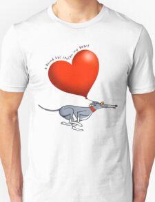 Stolen Heart - blue hound Unisex T-Shirt