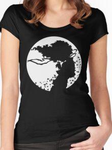 Afro Samurai Women's Fitted Scoop T-Shirt