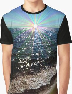 Rainbow Reflections Graphic T-Shirt