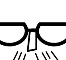 I'm Chris (black lines) Sticker