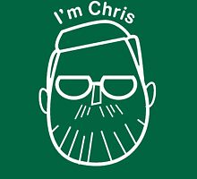 I'm Chris (white lines) T-Shirt