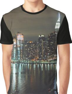 NYC - Empire State Building Graphic T-Shirt