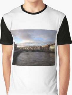 Cork, River Lee Graphic T-Shirt