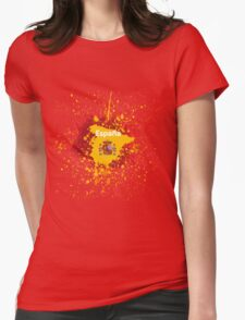 Furia roja Womens Fitted T-Shirt