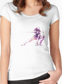 MGS - Raiden Women's Fitted Scoop T-Shirt
