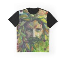 Greenman Watercolor  Graphic T-Shirt