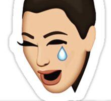 Kim Kardashian Mood Right Now!! Sticker