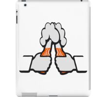 Drinking beer flaschenbier toast iPad Case/Skin