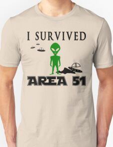 I survived area 51 T-Shirt