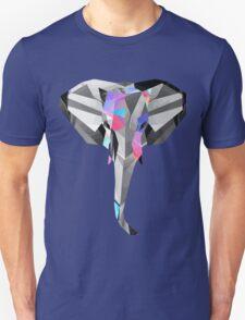 Low-Poly Elephant Unisex T-Shirt