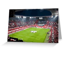 BAYERN MUNCHEN - ALLIANZ ARENA Greeting Card