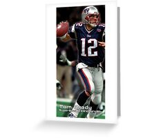 Tom Brady Superbowl MVP Greeting Card