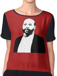 Phil The uncle Chiffon Top