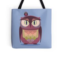 THE SAT UPON OWL Tote Bag