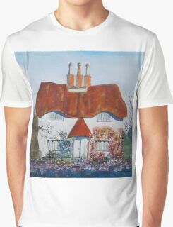 Honeypot Cottage Graphic T-Shirt