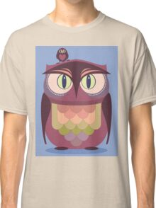 THE SAT UPON OWL Classic T-Shirt