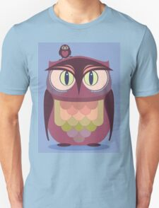 THE SAT UPON OWL Unisex T-Shirt