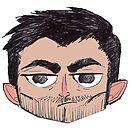 Grumpy Wolf [Derek] by thescudders