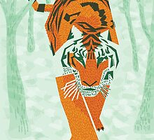 Tiger Conservation by David Orr
