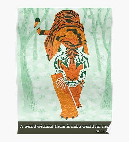 Tiger Conservation Poster