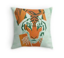 Tiger Conservation Throw Pillow