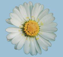 White daisy Kids Tee