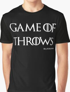 Game of Throws (BJJ, MMA, Judo) Graphic T-Shirt