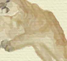 Cougar Jump Sticker