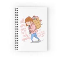 All you need is love and donuts  Spiral Notebook