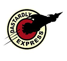 Dastardly & Muttley Express Photographic Print