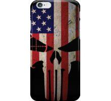 Police Punisher Flag iPhone Case/Skin